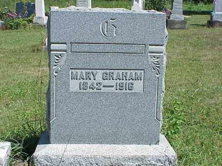 GRAHAM, MARY - Richland County, Ohio | MARY GRAHAM - Ohio Gravestone Photos