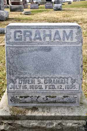 GRAHAM, OWEN S - Richland County, Ohio | OWEN S GRAHAM - Ohio Gravestone Photos