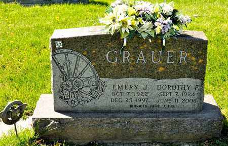 GRAUER, DOROTHY P - Richland County, Ohio | DOROTHY P GRAUER - Ohio Gravestone Photos