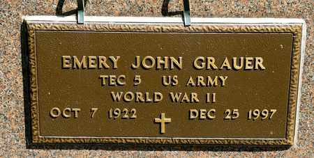 GRAUER, EMERY JOHN - Richland County, Ohio | EMERY JOHN GRAUER - Ohio Gravestone Photos
