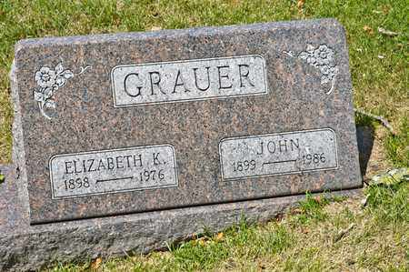 GRAUER, JOHN - Richland County, Ohio | JOHN GRAUER - Ohio Gravestone Photos