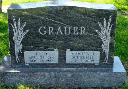 GRAUER, FRED - Richland County, Ohio | FRED GRAUER - Ohio Gravestone Photos