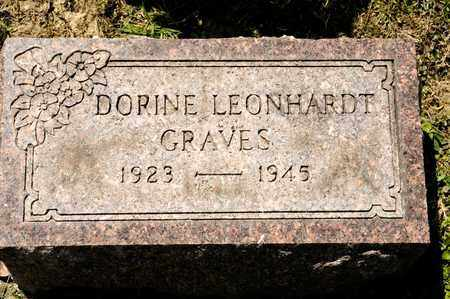 LEONHARDT GRAVES, DORINE - Richland County, Ohio | DORINE LEONHARDT GRAVES - Ohio Gravestone Photos