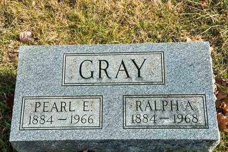 GRAY, RALPH A - Richland County, Ohio | RALPH A GRAY - Ohio Gravestone Photos