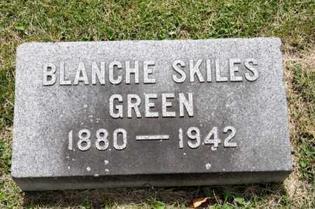 GREEN, BLANCHE - Richland County, Ohio | BLANCHE GREEN - Ohio Gravestone Photos