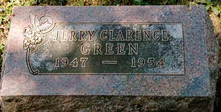 GREEN, JERRY CLARENCE - Richland County, Ohio | JERRY CLARENCE GREEN - Ohio Gravestone Photos
