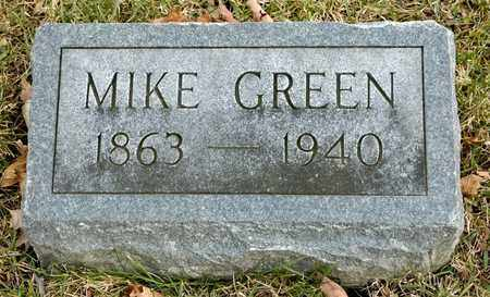 GREEN, MIKE - Richland County, Ohio | MIKE GREEN - Ohio Gravestone Photos