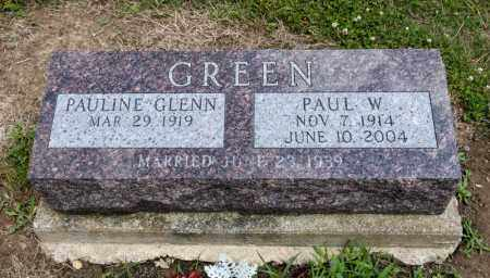 GREEN, PAUL W - Richland County, Ohio   PAUL W GREEN - Ohio Gravestone Photos