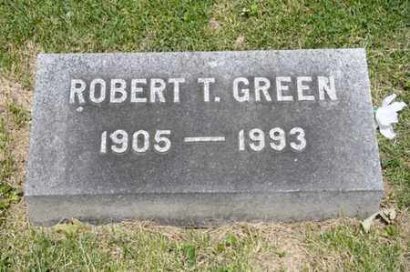 GREEN, ROBERT T - Richland County, Ohio | ROBERT T GREEN - Ohio Gravestone Photos