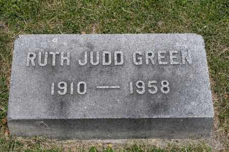 GREEN, RUTH JUDD - Richland County, Ohio | RUTH JUDD GREEN - Ohio Gravestone Photos