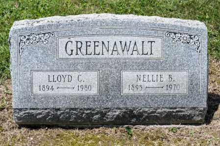 REYNOLDS GREENAWALT, NELLIE BEULAH - Richland County, Ohio | NELLIE BEULAH REYNOLDS GREENAWALT - Ohio Gravestone Photos
