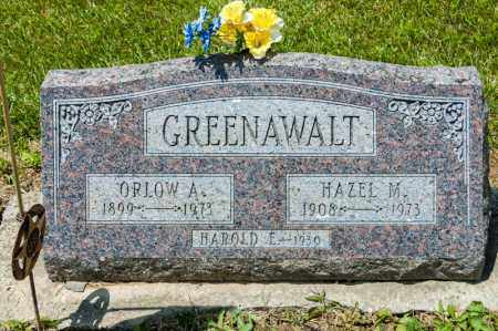 GREENAWALT, ORLOW A - Richland County, Ohio | ORLOW A GREENAWALT - Ohio Gravestone Photos