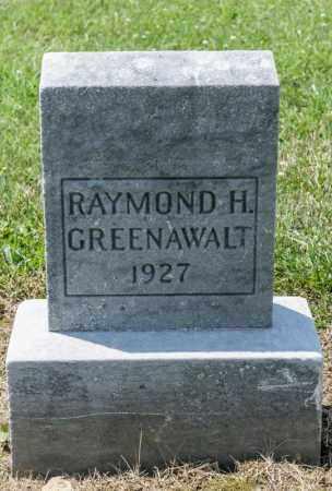 GREENAWALT, RAYMOND H - Richland County, Ohio   RAYMOND H GREENAWALT - Ohio Gravestone Photos