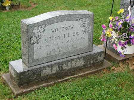 GREENHILL SR., WOODROW - Richland County, Ohio | WOODROW GREENHILL SR. - Ohio Gravestone Photos