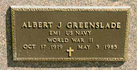 GREENSLADE, ALBERT J - Richland County, Ohio | ALBERT J GREENSLADE - Ohio Gravestone Photos