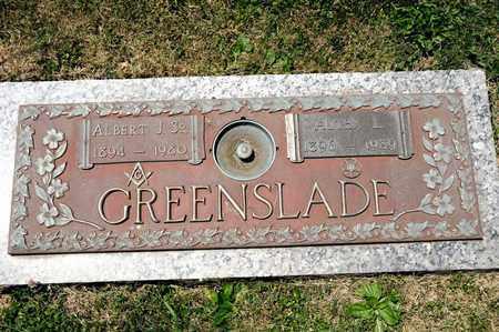 GREENSLADE, ALTHA L - Richland County, Ohio | ALTHA L GREENSLADE - Ohio Gravestone Photos