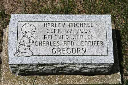 GREGORY, HARLEY MICHAEL - Richland County, Ohio | HARLEY MICHAEL GREGORY - Ohio Gravestone Photos