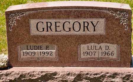 GREGORY, LUDIE P - Richland County, Ohio | LUDIE P GREGORY - Ohio Gravestone Photos