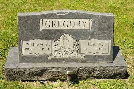 GREGORY, WILLIAM A - Richland County, Ohio | WILLIAM A GREGORY - Ohio Gravestone Photos
