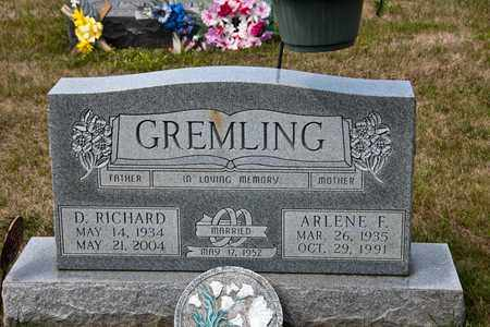 GREMLING, D RICHARD - Richland County, Ohio | D RICHARD GREMLING - Ohio Gravestone Photos