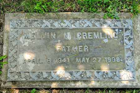 GREMLING, MELVIN N - Richland County, Ohio | MELVIN N GREMLING - Ohio Gravestone Photos