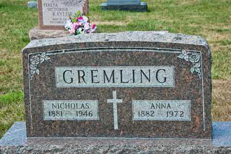GREMLING, ANNA - Richland County, Ohio | ANNA GREMLING - Ohio Gravestone Photos