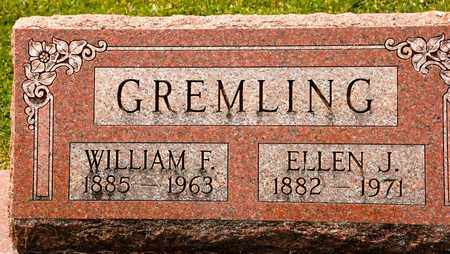 GREMLING, ELLEN J - Richland County, Ohio | ELLEN J GREMLING - Ohio Gravestone Photos