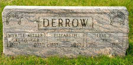 DERROW, LEVI J - Richland County, Ohio | LEVI J DERROW - Ohio Gravestone Photos