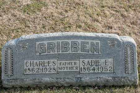 GRIBBEN, SADIE E - Richland County, Ohio | SADIE E GRIBBEN - Ohio Gravestone Photos