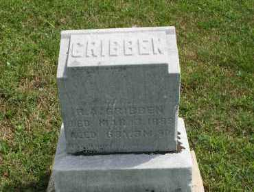 GRIBBEN, R.A. - Richland County, Ohio | R.A. GRIBBEN - Ohio Gravestone Photos