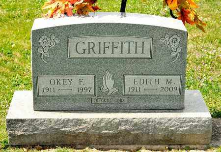 GRIFFITH, OKEY F - Richland County, Ohio | OKEY F GRIFFITH - Ohio Gravestone Photos