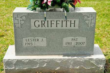 GRIFFITH, PAT - Richland County, Ohio | PAT GRIFFITH - Ohio Gravestone Photos