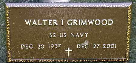 GRIMWOOD, WALTER I - Richland County, Ohio | WALTER I GRIMWOOD - Ohio Gravestone Photos