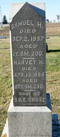 GROSE, HARVEY H - Richland County, Ohio | HARVEY H GROSE - Ohio Gravestone Photos