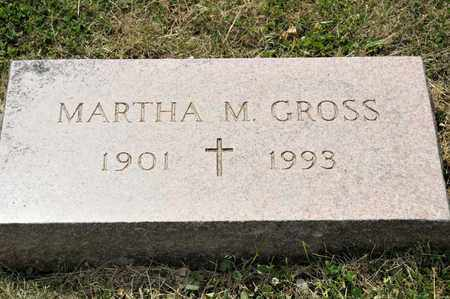 GROSS, MARTHA M - Richland County, Ohio | MARTHA M GROSS - Ohio Gravestone Photos