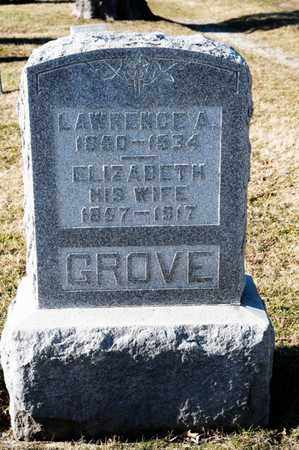GROVE, LAWRENCE A - Richland County, Ohio | LAWRENCE A GROVE - Ohio Gravestone Photos