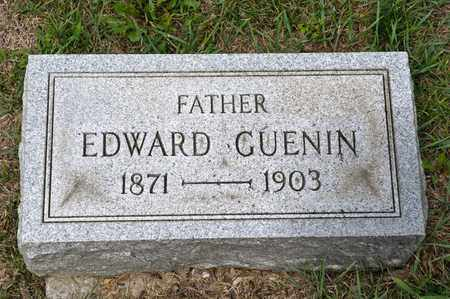 GUENIN, EDWARD - Richland County, Ohio | EDWARD GUENIN - Ohio Gravestone Photos