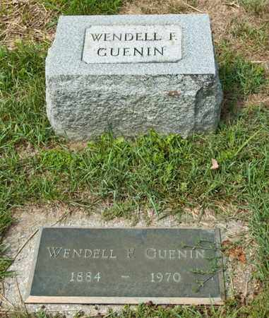 GUENIN, WENDELL F - Richland County, Ohio | WENDELL F GUENIN - Ohio Gravestone Photos