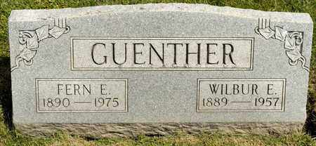 GUENTHER, WILBUR E - Richland County, Ohio | WILBUR E GUENTHER - Ohio Gravestone Photos