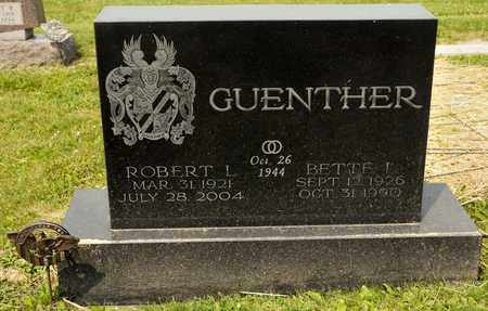 GUENTHER, ROBERT L - Richland County, Ohio | ROBERT L GUENTHER - Ohio Gravestone Photos