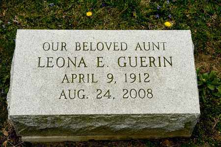 GUERIN, LEONA E - Richland County, Ohio | LEONA E GUERIN - Ohio Gravestone Photos