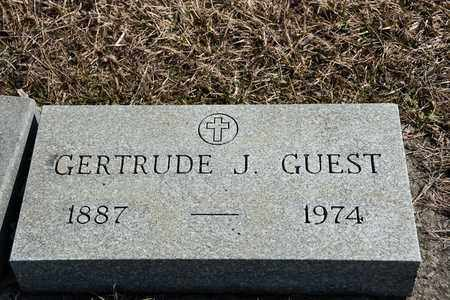 GUEST, GERTRUDE J - Richland County, Ohio | GERTRUDE J GUEST - Ohio Gravestone Photos