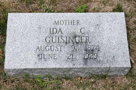 GUISINGER, IDA C - Richland County, Ohio | IDA C GUISINGER - Ohio Gravestone Photos