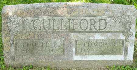 GULLIFORD, GEORGIA B - Richland County, Ohio | GEORGIA B GULLIFORD - Ohio Gravestone Photos