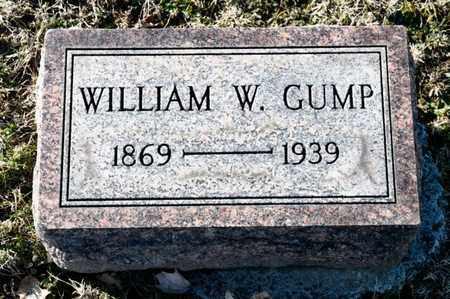 GUMP, WILLIAM W - Richland County, Ohio | WILLIAM W GUMP - Ohio Gravestone Photos