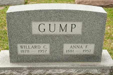 GUMP, WILLARD C - Richland County, Ohio | WILLARD C GUMP - Ohio Gravestone Photos