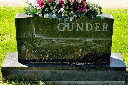GUNDER, TIKARA A - Richland County, Ohio | TIKARA A GUNDER - Ohio Gravestone Photos