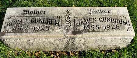 GUNDRUM, JAMES - Richland County, Ohio | JAMES GUNDRUM - Ohio Gravestone Photos