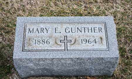 GUNTHER, MARY E - Richland County, Ohio | MARY E GUNTHER - Ohio Gravestone Photos