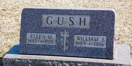 GUSH, WILLIAM J - Richland County, Ohio | WILLIAM J GUSH - Ohio Gravestone Photos